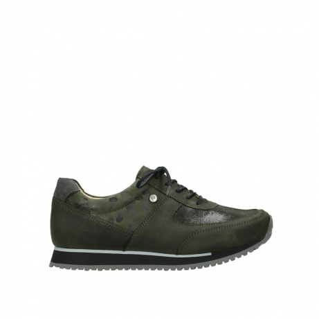 dde4f064f7f3 Wolky Shoes 05806 e-sneaker forestgreen stretch leather order now ...
