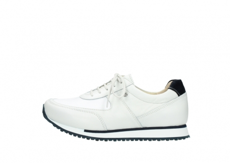 wolky veterschoenen 05806 e sneaker 70100 wit stretch leer_1