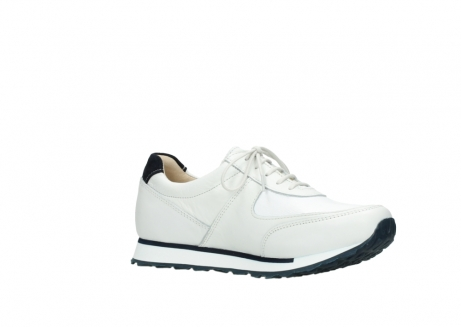 wolky veterschoenen 05806 e sneaker 70100 wit stretch leer_15