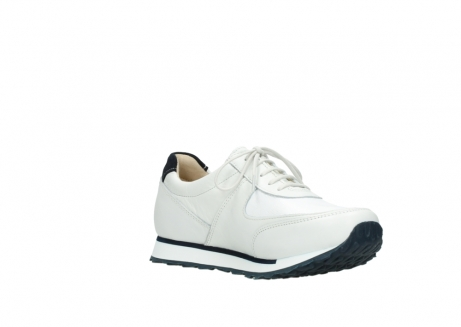 wolky veterschoenen 05806 e sneaker 70100 wit stretch leer_16