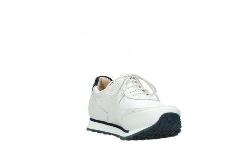wolky veterschoenen 05806 e sneaker 70100 wit stretch leer_17