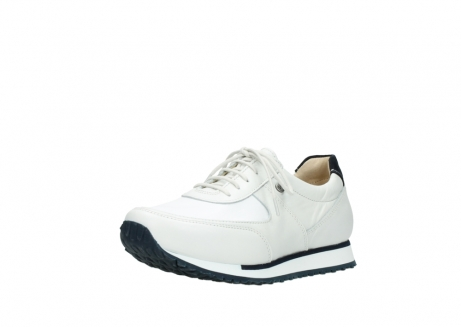 wolky veterschoenen 05806 e sneaker 70100 wit stretch leer_22