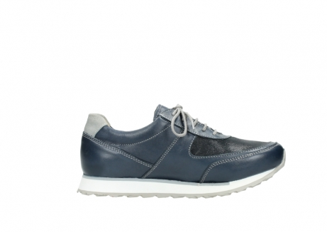 wolky chaussures a lacets 05806 e sneaker 70800 cuir extensible bleu_13