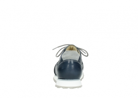 wolky chaussures a lacets 05806 e sneaker 70800 cuir extensible bleu_7