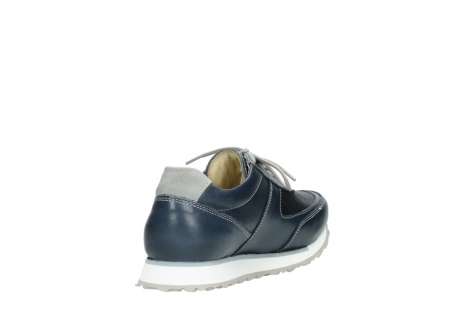 wolky chaussures a lacets 05806 e sneaker 70800 cuir extensible bleu_9