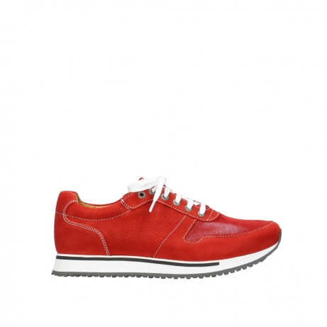 wolky lace up shoes 05850 e walk men 11570 red stretch leather