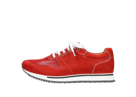 wolky lace up shoes 05850 e walk men 11570 red stretch leather_1