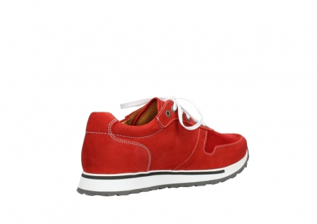 wolky lace up shoes 05850 e walk men 11570 red stretch leather_10
