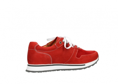 wolky lace up shoes 05850 e walk men 11570 red stretch leather_11