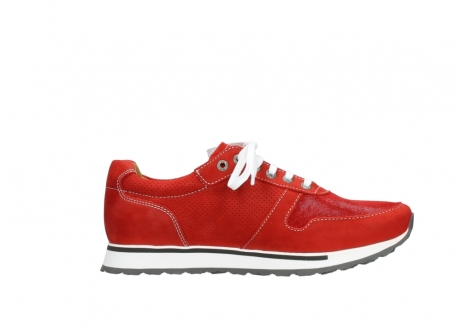 wolky lace up shoes 05850 e walk men 11570 red stretch leather_13