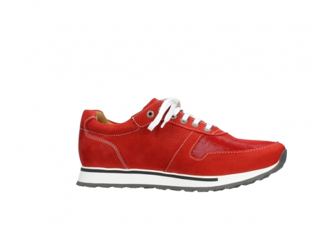 wolky lace up shoes 05850 e walk men 11570 red stretch leather_14