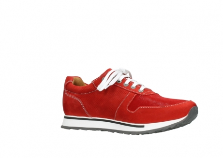 wolky lace up shoes 05850 e walk men 11570 red stretch leather_15
