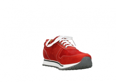 wolky lace up shoes 05850 e walk men 11570 red stretch leather_17