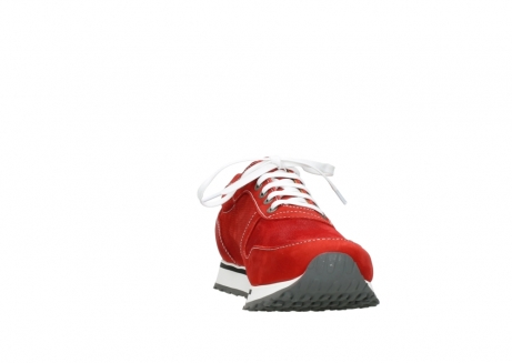 wolky lace up shoes 05850 e walk men 11570 red stretch leather_18