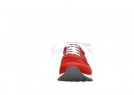 wolky lace up shoes 05850 e walk men 11570 red stretch leather_19