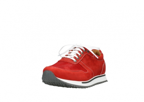 wolky lace up shoes 05850 e walk men 11570 red stretch leather_21