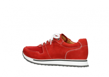 wolky lace up shoes 05850 e walk men 11570 red stretch leather_3