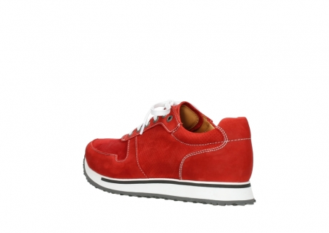 wolky lace up shoes 05850 e walk men 11570 red stretch leather_4