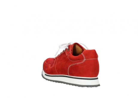 wolky lace up shoes 05850 e walk men 11570 red stretch leather_5