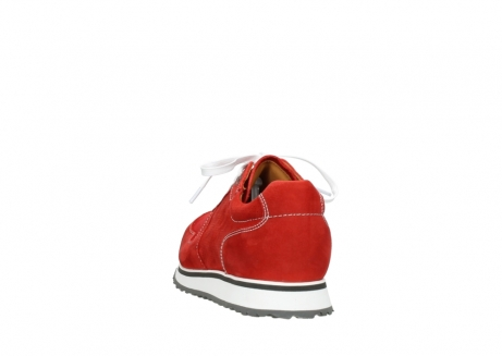 wolky lace up shoes 05850 e walk men 11570 red stretch leather_6