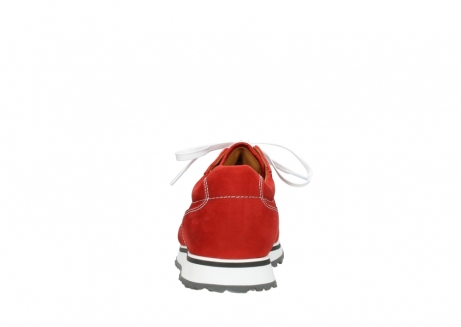 wolky lace up shoes 05850 e walk men 11570 red stretch leather_7
