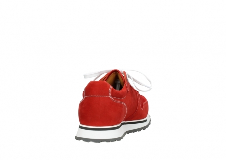 wolky lace up shoes 05850 e walk men 11570 red stretch leather_8