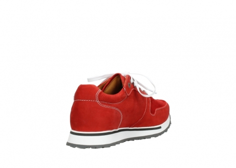 wolky lace up shoes 05850 e walk men 11570 red stretch leather_9
