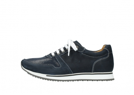 wolky comfort shoes 05850 e walk men 11800 blue stretch nubuck_1