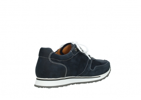 wolky lace up shoes 05850 e walk men 11800 blue stretch nubuck_10