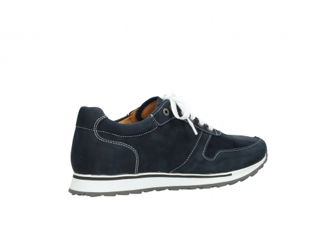 wolky lace up shoes 05850 e walk men 11800 blue stretch nubuck_11