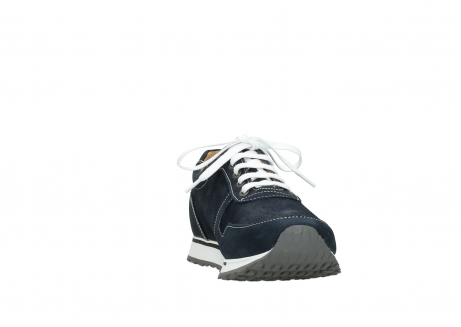 wolky lace up shoes 05850 e walk men 11800 blue stretch nubuck_18