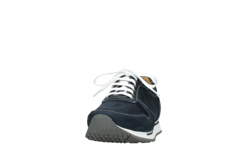 wolky lace up shoes 05850 e walk men 11800 blue stretch nubuck_20