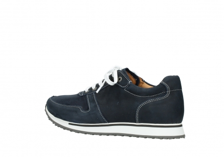 wolky comfort shoes 05850 e walk men 11800 blue stretch nubuck_3