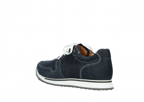 wolky comfort shoes 05850 e walk men 11800 blue stretch nubuck_4
