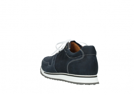 wolky comfort shoes 05850 e walk men 11800 blue stretch nubuck_5