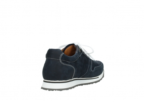 wolky lace up shoes 05850 e walk men 11800 blue stretch nubuck_9