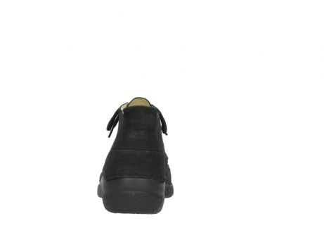 wolky lace up shoes 06200 roll moc 11000 black nubuck_7