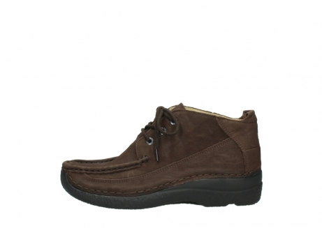 wolky lace up shoes 06200 roll moc 11300 brown nubuck_1