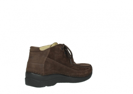 wolky lace up shoes 06200 roll moc 11300 brown nubuck_10