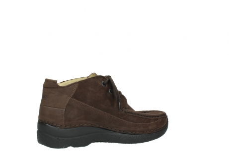 wolky lace up shoes 06200 roll moc 11300 brown nubuck_11