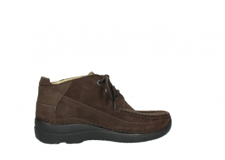 wolky lace up shoes 06200 roll moc 11300 brown nubuck_12