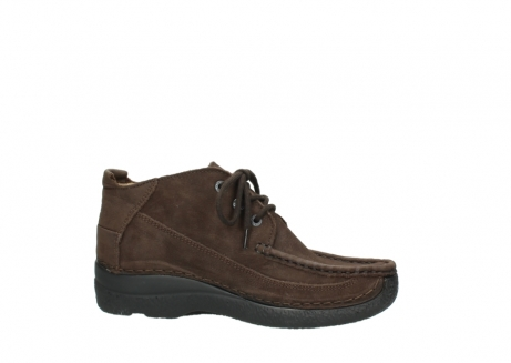 wolky lace up shoes 06200 roll moc 11300 brown nubuck_14