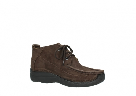 wolky lace up shoes 06200 roll moc 11300 brown nubuck_15