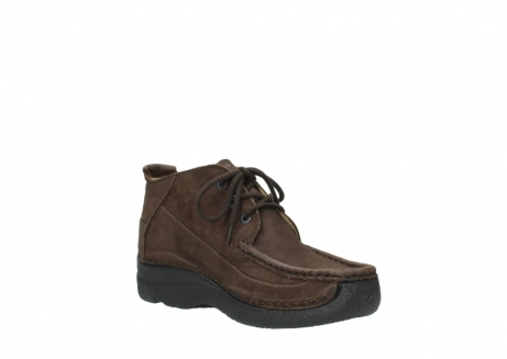 wolky lace up shoes 06200 roll moc 11300 brown nubuck_16