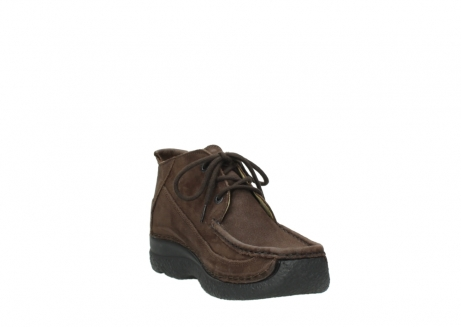 wolky lace up shoes 06200 roll moc 11300 brown nubuck_17