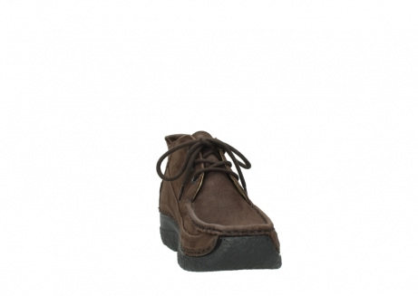 wolky lace up shoes 06200 roll moc 11300 brown nubuck_18