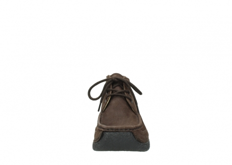 wolky lace up shoes 06200 roll moc 11300 brown nubuck_19