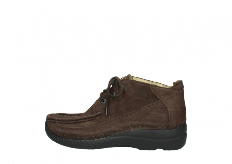 wolky lace up shoes 06200 roll moc 11300 brown nubuck_2
