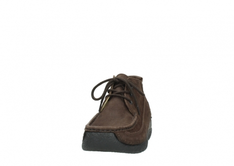 wolky lace up shoes 06200 roll moc 11300 brown nubuck_20