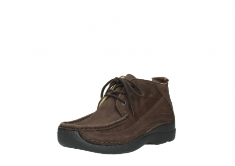 wolky lace up shoes 06200 roll moc 11300 brown nubuck_22